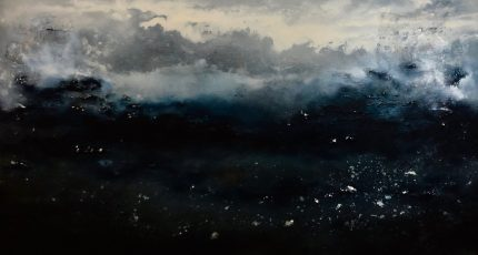 4.Uncharted 200x140. Acrylic_mixed media on block canvas framed £3885