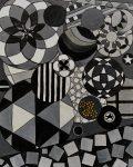 46.Abstract.60x70. Acrylic on canvas unframed £720